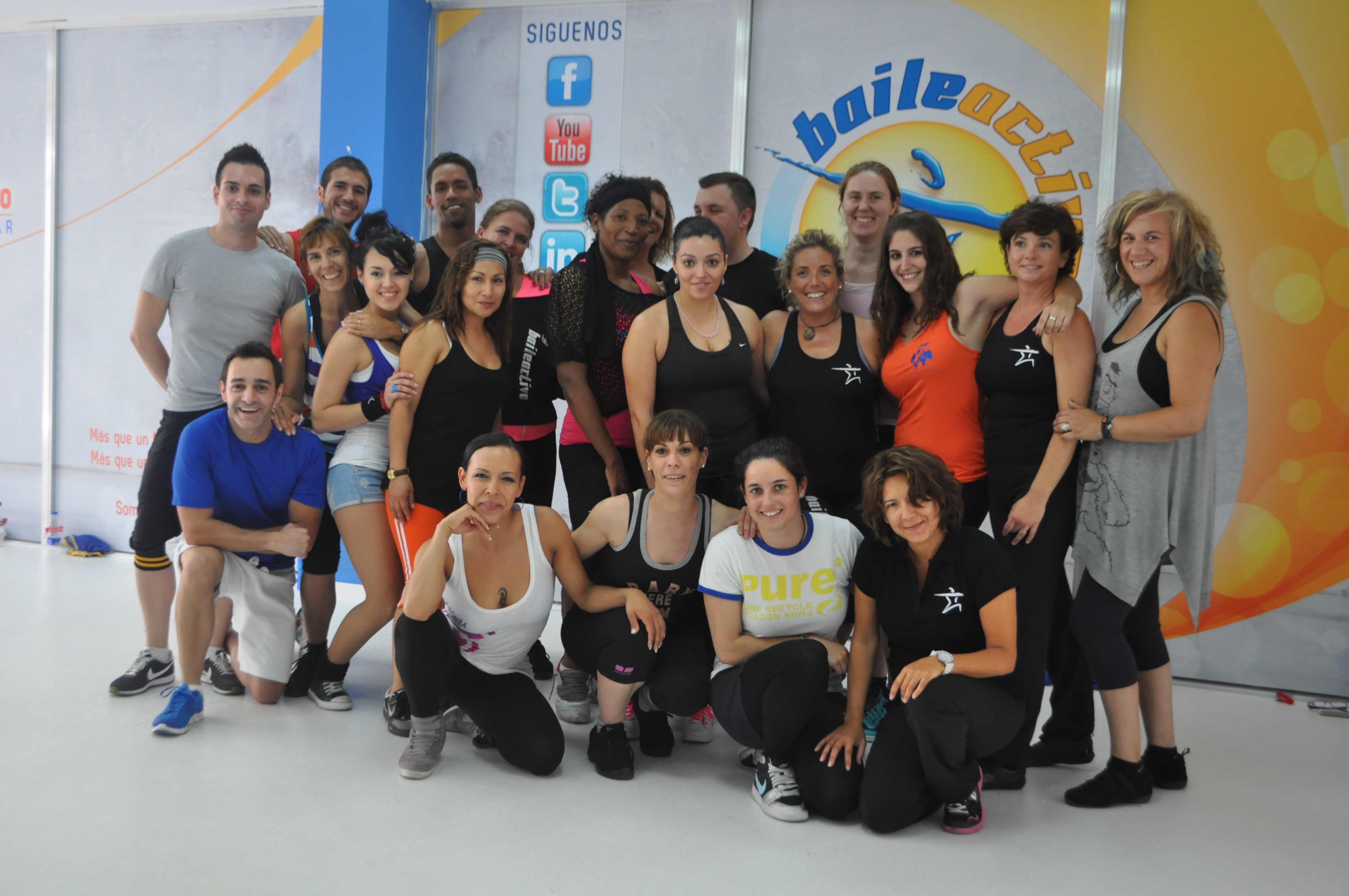 Ultimo domingo del 1º Training Day de BaileActivo.