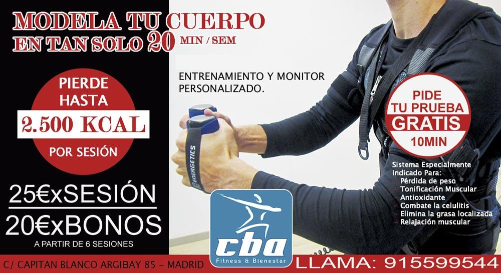 CHALECO  DE ELECTROESTIMULACIÓN TRAINER EMS