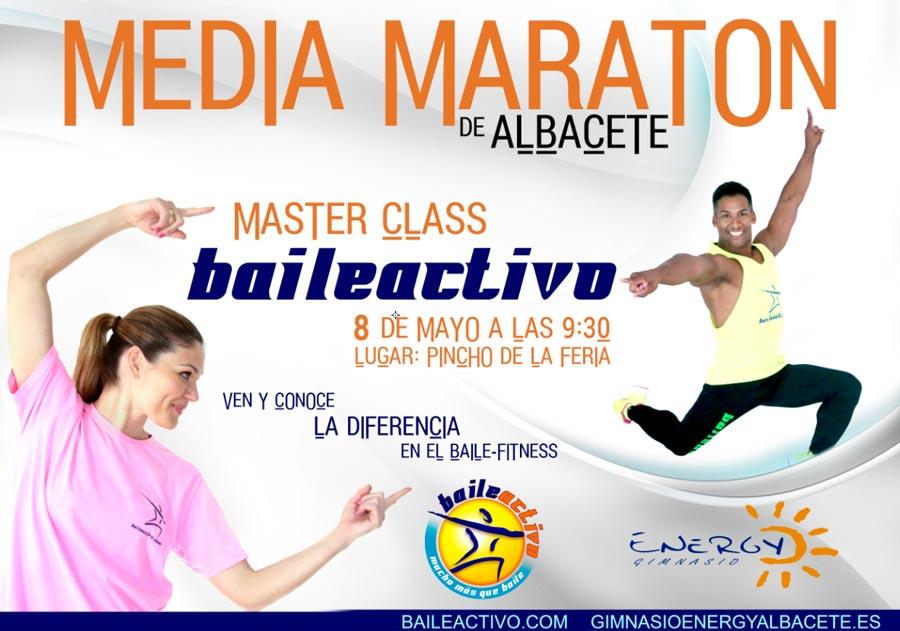 Master Class de Baileactivo en La Media Maratón de Albacete