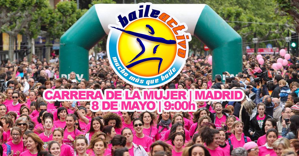 """Baileactivo estará con la """"XIII Carrera de la Mujer"""" en Madrid ¡TE ESPERAMOS!"""